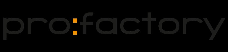 pro factory logo kontakt