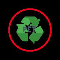 Filz aus recyceltem PET
